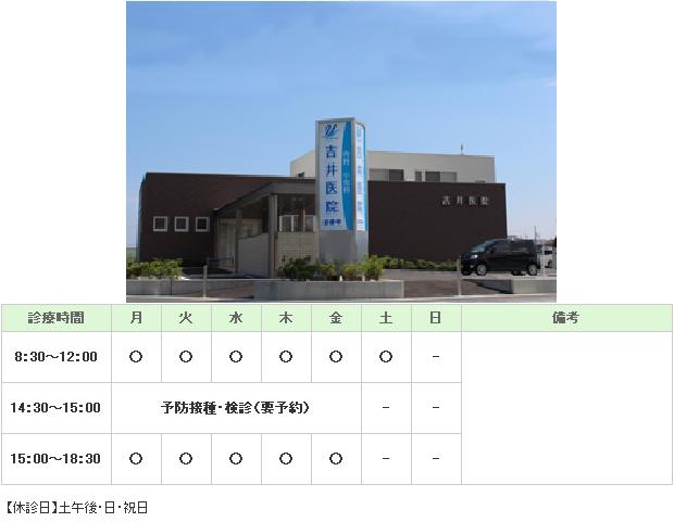 吉井医院|浜松市東区|内科