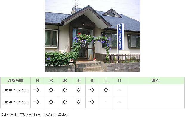金子歯科医院|浜松市東区|歯科