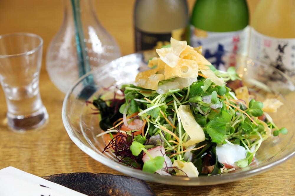 「一磋の海鮮サラダ」