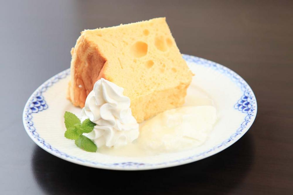 日替わりシフォンケーキ