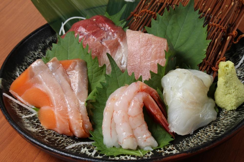 毎朝築地より直送される鮮魚を使用!