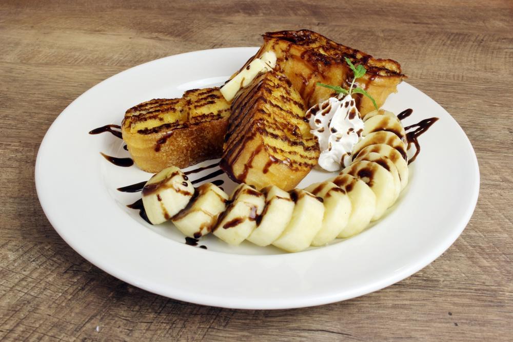 ■フレンチトースト チョコバナナ 800円+税