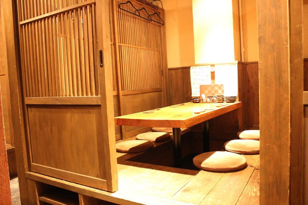 ◆大人な落ち着いた個室完備