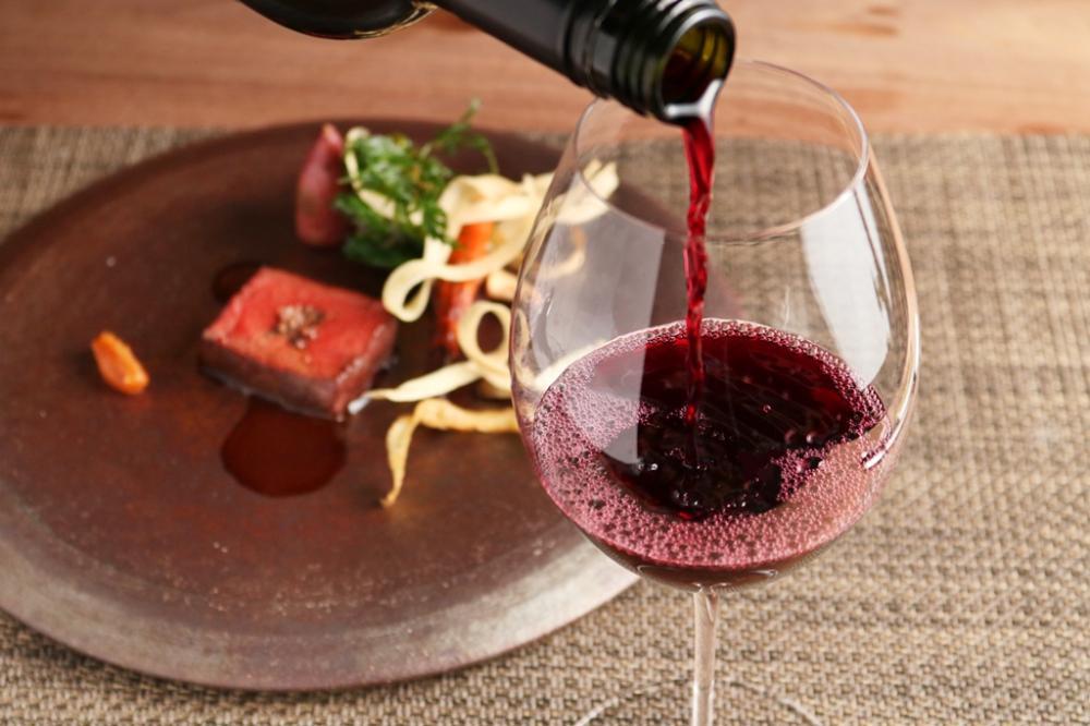 料理とワインのマリアージュ