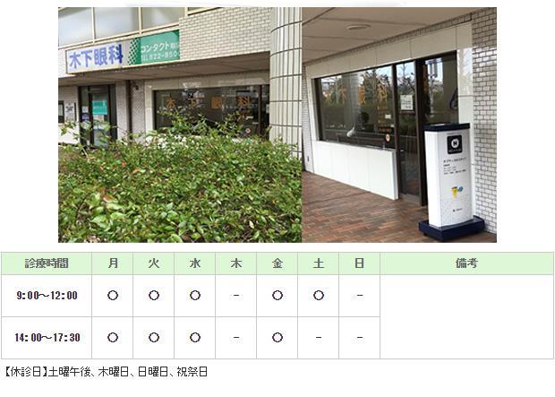木下眼科医院 横浜市戸塚区 眼科