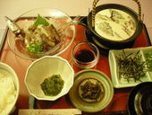 胡麻秋刀魚定食、釧路初お目見え!<br />釧路沖の新鮮な秋刀魚を使用した至極の逸品。<br />※旬の時期にしか味わえない逸品です。