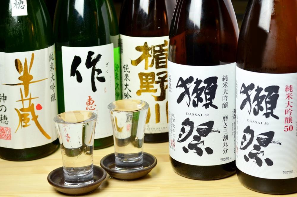 全国の日本酒40種
