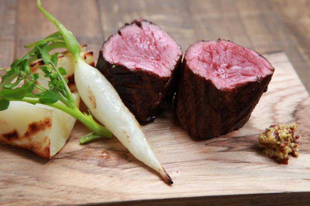伝統の牛ハラミ塊肉の炙り(180g)