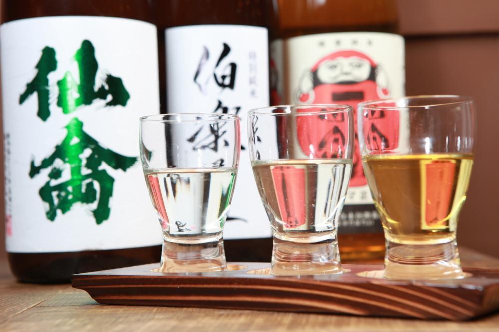 日本各地から厳選の日本酒
