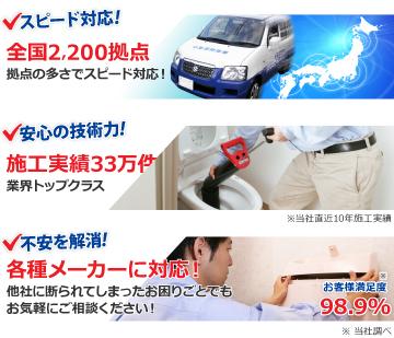 スピード対応安心の技術力出張見積り無料