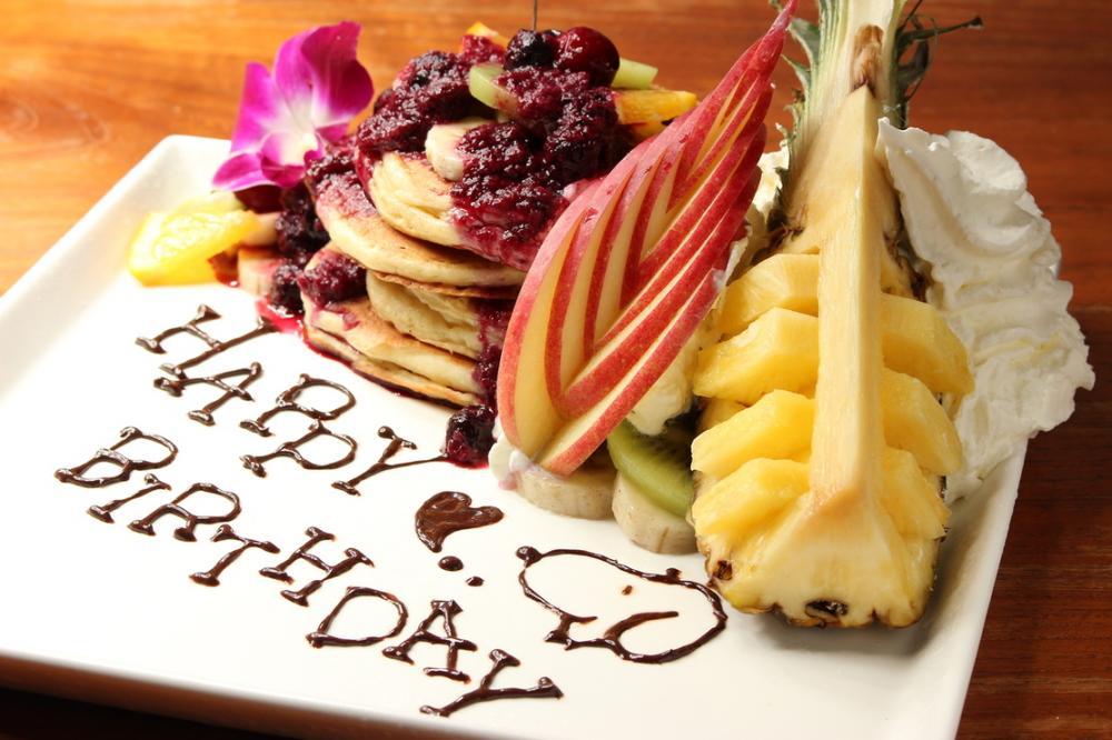 Anniversaryパンケーキでおもてなし!