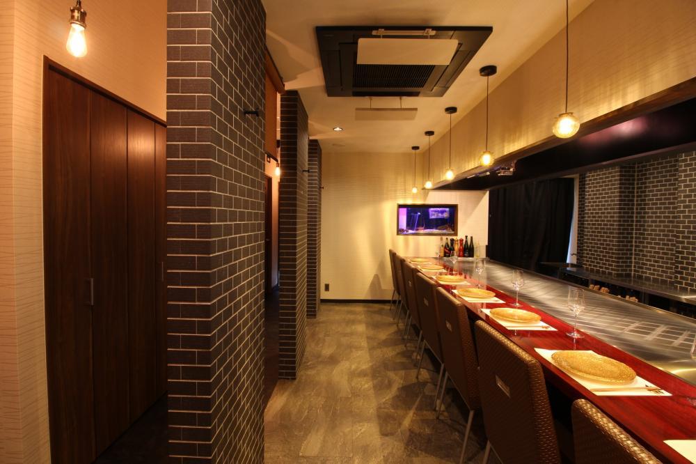 創作鉄板焼と寿司 錦