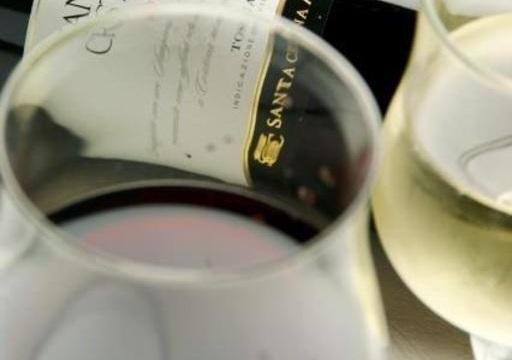 お食事にワインをチョイス